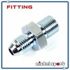 10mm x 1.5 to 4AN AN4 M10 Straight Fitting Adapter