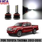 2X 40W Mini COB LED Fog Light Bulb For Toyota Tacoma 2012-2018 HID White 6000K