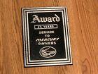 Kiekhaefer Mercury 90-36565 Dealer Service Award Plaque - Great Memorabilia!
