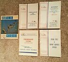 Lot of 4 Cessna Overhaul and Parts Manuals & Stearman Book.