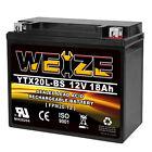 Weize Battery YTX20L-BS Yamaha Big Bear Grizzly Kodiak YFM400 450 600 660 700