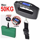 Black / Blue Convenient Digital Electronic Luggage Scale Kitchen Weight Balance