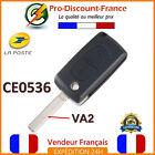 Key For Peugeot Citroën 2 buttons Shell Rks Remote CE0536 VA2
