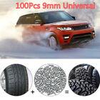 100X 9mm Tire Screw Stud Snow Spikes Wheel Snow Chains Studs For Car/Truck/ATV