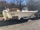 MARITIME DEFIANT 20 FT CENTER CONSOLE BOAT, NEW 2004, ONE OWNER, CLEAN