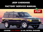 JEEP CHEROKEE 1997 1998 1999 2000 2001  SERVICE REPAIR WORKSHOP MANUAL