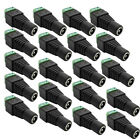 Bulk 100pc 5.5mmx2.1 DC power supply socket adapter connector Jack CCTV camera