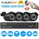 8CH 1080P AHD DVR+4XZoom 1080P 3000TVL Camera Home Security System IR-CUT 2.0MP