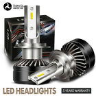 2*H7 60W 12000LM LED Headlight Conversion COB Bulbs Cool High/Low Beam IP67 YZ16