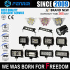 12-72W Work Light Bar LED Lamp FOR CAR Offroad ATV SUV 4WD BOAT MOTORCYCLE TRUCK