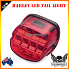 RED LED Brake License Tail Light Harley Night Train FXSTB Road King Electra XL