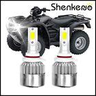9005 HB3 White 110W 11000LM LED Bulbs Headlight For Honda Foreman Rubicon 500 US