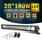 CoLight 20'' Slim 2-Row LED Light Bar Combo Beam Offroad Truck SUV 4WD UTV Lamp