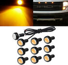 10pcs Amber LED Grille Running Eagle Eye Lamp Kit For Ford Expedition Explorer
