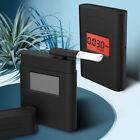 Digital LCD Alcohol Breath Analyzer Breathalyzer Tester Detector Test No Battery
