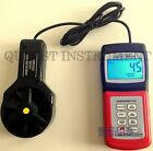 Digital Handy Anemometer Wind Flow  Scale Wave Height Temperature Long Sensor