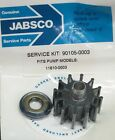 90105-0003, 11810-0003 Jabsco Impeller Kit Profile K FACTORY NEW