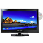 "Axess TVD1801 15.4"" to 24'' LED AC/DC TV w/DVD Player Full HD HDMI SD Reader USB"