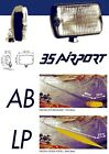 "Cibie 35 ""Airport"" Fog Lamps Clear (Mercedes,W123,BMW,E30,Volvo,Lights,240,E24"