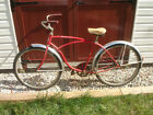 "Old Vtg 1969 26"" Wheel Red Schwinn Adult Boys Typhoon Bike Bicycle # KE04572"