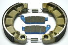 Rear Brake Shoes Front Brakes For Honda VT750CDB SHADOW ACE 750 DELUXE 2002 2003