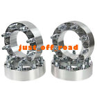 """4pcs Alloy Wheel Spacers 8X6.5 9/16"""" Studs 2"""" Thick Hummer H2 series"""
