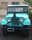Willys : CJ5 Hardtop 1961 Classic Jeep Willys, Good Body Condition, Runs Well. Ready for restoration.