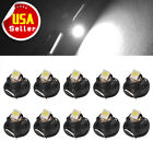 20x Ultra Blue T4 T4.2 Neo Wedge 1-SMD LED Cluster Instrument Dash Climate Bulbs