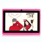 """7"""" Tablet PC Android 4.0 for Kids Children A23 1.2GHz 4GB Dual Cam Wi-Fi- (Blue)"""