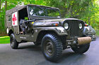 Willys : Willys Jeep 1955 Willys M170 Frontline Army Ambulance Jeep - NO RESERVE - (CJ, M38,MB)