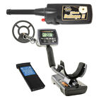 "Whites MX5 Metal Detector with 9"" Waterproof  Coil and Bullseye II Pinpointer"