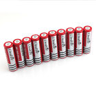 10PCS 18650 Battery Ultrafire 3.7V 4000mah For Rechargeable Flashlight From USA