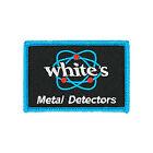 Whites Iron-On Patch Iron On Backing White's Electronics Metal Detector 602-1132