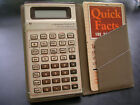 TI BUSINESS ANALYST II Vintage Calculator Constant Memory Case & Guide