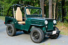 Willys : CJ3B 2 seater 1953 Willys Jeep CJ3B completely restored, only 107 miles since complete rebuild