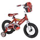 "12"" Huffy Cars Boys' Bike Training Wheels Design Toolbox Play Red Steel Rims NEW"
