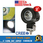 10W XML CREE LED WORK LIGHT 1000LM FOR JEEP TURCK BOAT 4WD ATV SUV SAVE 18W/27W