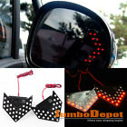 Red LED Sequential Arrow Panel Side Mirror Turn Signal Light For Toyota Camry X2