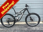 2014 Specialized S-Works Enduro Full Suspension 26 in bike size Small White used