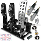 UNIVERSAL HYDRAULIC FLOOR MOUNTED CABLE RACE PEDAL BOX+STANDARD KIT CMB0666-CAB