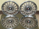 "80 81 82 83 84 85 Buick HUB CAPS 13"" Wheel Covers Set of 4"