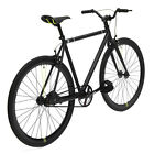 Road Bike ORIGINAL Bicycle 48cm Black CREATE Fixie Light Aluminum Frame Pro