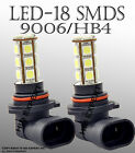 AFF 1 pair LED 9006 HB4 18 LED Hyper Super White Fog Light Replacement Bulbs C0A
