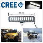 13 inch 72W Cree Led Work Light Bar Flood Spot combo Suv Boat Driving Offroad 14