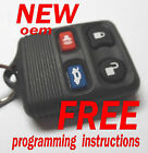 100% NEW OEM 2001 LINCOLN CONTINENTAL KEYLESS REMOTE ENTRY FOB TRANSMITTER