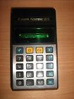 Canon Palmtronic LD-81 Vintage Japan calculator with VFD display .