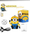 Minions Fresh Air Purifier Oxygen Bar Ozone Ionizer Cleaner For Auto Car / Home