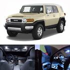 LED Lights Interior Package Kit For Toyota FJ Cruiser 2007-2013 (12 Bulbs White)