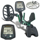 """Teknetics T2 Classic Metal Detector with Two Waterproof Search Coils 11"""" and 15"""""""
