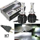 H7 60W High Power Cree LED Car Headlights White Beam Conversion Lamps Bulbs